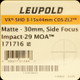 Leupold - VX-5-HD - 3-15x44 - CDS-ZL2 - Side Focus - Impact-29 Matte - 171716