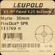 Leupold - VX-R - 1.25-4x20 - Patrol FireDot SPR -  Matte