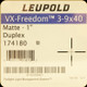 Leupold - VX-Freedom - 3-9x40 - DPX - Matte