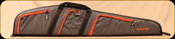"Allen - Sierra - Rifle Scope Deluxe Soft Case - 46"" - Grey w/Orange"