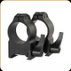 "Warne - Maxima Quick Detachable Steel Rings - 1"" - High - Matte Black - 202LM"