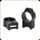 Warne - Maxima Series - Steel Rings - 30mm - High - Matte Black - 215M