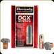 Hornady - 45 Cal - 480 Gr -  DGX Bonded - Jacketed Flat Nose - 50ct - 45034