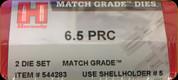 Hornady - Match Grade Dies - 6.5 PRC - 544283