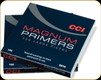 CCI - Large Magnum Pistol Primers - No. 350 - 100ct - 0016