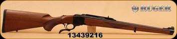 """Ruger - 257Roberts - 1RSA - Walnut, Blued, 20"""" Barrel, Adj rear sights,"""