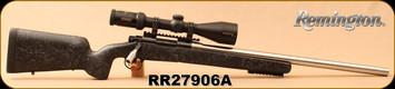 "Consign - Remington - 243Win - Model 700 Custom Built - Bedded Greybull Stock/Stainless, 24""Custom Competition McGowan Barrel, Timney Calvin Trigger, Ken Farrell Rings, Steiner Predator Xtreme, 3-12x56mm, Steiner Plex S1 Reticle"
