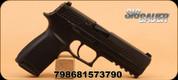 "SIG - 9mm - P320 Nitron - Blk, 4.7""Brl, Polymer Grip, 2Mags"