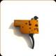 Timney Trigger - Tikka T3 - 2 Stage Adjustable Trigger - Curved Trigger - Steel - Orange - 8oz/1lbs - 430