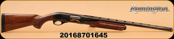 """Remington - 12Ga/3""""/26"""" - Model 870 200th Anniversary Limited Edition - Pump Action - Walnut Stock/Blued, 4 Rounds, #1645 of 2016 made, Mfg# 82089, S/N 20168701645"""