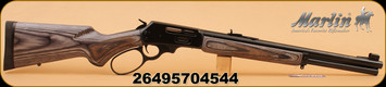 "Marlin - 45/70 - 1895Govt - Black-Grey Lam Stock/Bl, 18.5"" Large Loop Lever"