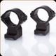 Talley - Lightweights - 34mm Med - Black - Rem 700-721-722-725-40X, HS Precision, Howa 1500 - 8-40 SCREWS