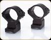 Talley - Lightweights - 34mm High -  Black -  Rem 700-721-722-725-40X, HS Precision, Howa 1500 - 8-40 Screws