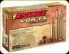 Barnes - 300 Wby Mag - 180 Gr - VOR-TX - TTSX (Tipped Triple Shock-X) Boat Tail - 20ct - 22013