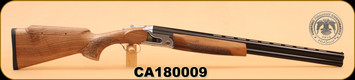 "Huglu - 12Ga/3""/26"" - S12E - Wd/Bl, Adjustable Comb, S/N CA180009"