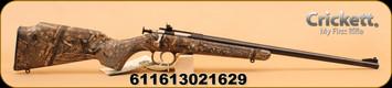 "Crickett - 22LR - MOSSY OAK Duck Blind Camo Lam/BL, 16"""