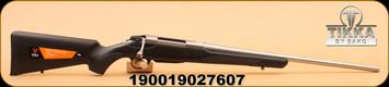 """Tikka - 25-06 - T3X - Lite - BlkSyn/SS, 22.4"""""""