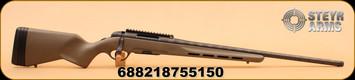"""Steyr - 6.5Creedmoor - Prohunter - Heavy Barrel - OD Green Ventilated Stock/Blk 26"""", Short Picatinny Rail"""