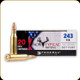 Federal - 243 Win - 100 Gr - Non-Typical Whitetail - Soft Point - 20ct - 243DT100