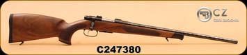 "CZ - 223Rem - 527 Exclusive - Ebony Edition - Wd/Bl, 22"""