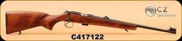 """CZ - 22LR - 455 Standard - Wd/Bl, 20"""", S/N C417122"""