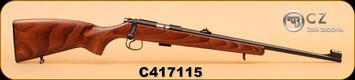 """CZ - 22LR - 455 Standard - Wd/Bl, 20"""", S/N C417115"""