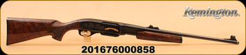 "Remington - 30-06Sprg - 7600 - 200th Anniversary Limited Edition, Wood/Bl, 22"", Pump Action"