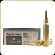Federal - 300 Savage - 180 Gr - Power-Shok - Soft Point - 20ct - 300B