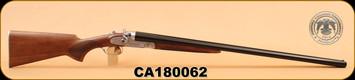 """Huglu - 201HRZ - 12Ga/3""""/30"""" - Wd/Bl - M.Choke, Silver Receiver S/N CA180062"""