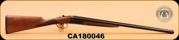 """Huglu - 20Ga/3""""/26"""" - 202B - Turkish Walnut/Blued, Mobile Choke, Case Hardened, SKU# 8681715394817, S/N CA180046"""