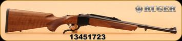 "Ruger - 450Marlin - 1-S - Sporter, Wd/Bl, 20"""