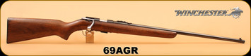 "Used - Winchester - 22S/L/LR - 69A - Wd/Bl, Original Finish, 24.5"" - grooved receiver"