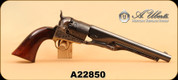 Used - Uberti - 44 - Black Powder - Colt 1860 Army Reproduction, Wd/Bl/Case Hardened, 8""