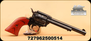 """Heritage - Rough Rider - 22LR/WMR -Lam/Bl, Cocobolo Grip, 6.5"""", 2 Cylinders"""
