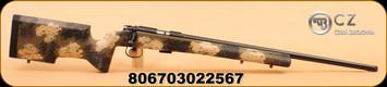 """CZ - 22LR - 455 Varmint Precision Trainer - Camo Manners Stock/Bl, 24"""""""