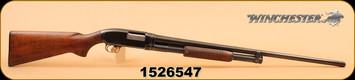 "Used - Winchester - 12Ga/2.75""/30"" - Model 12 - Wd/Bl, Full"