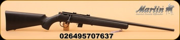 "Marlin - 22LR - XT22RZ - Bolt Action Rifle - Black Synthetic Stock/Blued, 22"" Barrel, 7 Rounds, Mfg# 70763"