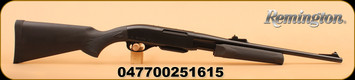 "Remington - 35 Whelan - Model 7600 Carbine - Black Synthetic Non- Monte Carlo Stock/Blued, 18.5""Barrel, Mfg# 25161"
