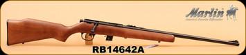 "Marlin - 22LR - XT-22 - Wd/Bl, 22"", S/N RB14642A"