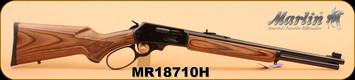 "Marlin - 30-30Win - 336BL Big Loop Carbine, Lever Action, Walnut/Bl, 18.5"" S/N MR18710H"