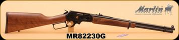 "Marlin - 30-30Win - Model 336 Texan Deluxe -  Walnut Stock/Bl/Engraved Receiver, 20"" Barrel, S/N MR82230G"
