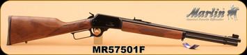 "Marlin - 44Magnum/44Special - Model 1894 - Lever-Action Rifle, Black Walnut Stock/Blued 20"" Barrel, S/N MR57501F"