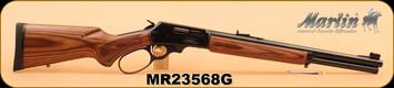 "Marlin - 45-70 Govt - 1895GBL - Big Loop Lever Action, Lam/Bl, 18.5"", Semi Buckhorn sights - S/N MR23568G"