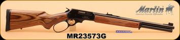 "Marlin - 45-70 Govt - 1895GBL - Big Loop Lever Action, Lam/Bl, 18.5"", Semi Buckhorn sights - S/N MR23573G"