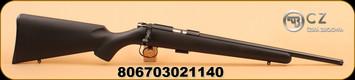 """CZ - 22LR - 455 - American Suppressor Ready - BlkSyn/Bl, 16"""" Threaded barrel"""