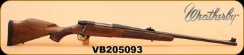 "Weatherby - 375H&H - Vanguard Safari - European Walnut/Bl, 24"", Two-Stage Adjustable Trigger"