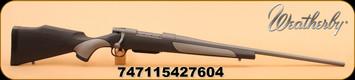 "Weatherby - 270Win - Vanguard Weatherguard - VGD Series 2 Griptonite Stock/24""Tactical Grey Cerakote barrel, DBM"