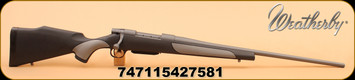 "Weatherby - 240WbyMag - Vanguard Weatherguard - VGD Series 2 Griptonite Stock/24""Tactical Grey Cerakote barrel, DBM"