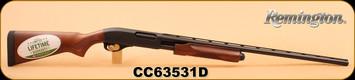 "Remington - 20Ga/3""/28"" - Model 870 Express - Pump Action - Hardwood/Matte Blued, 4 Round Capacity, Single Bead Sight, Mfg# 25583, S/N CC63531D"