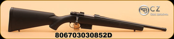 "CZ - 527 - 300 AAC Blackout - American, Blk Syn, Threaded, 16.5"" - Manufacturer's box is damaged - Contents were untouched"